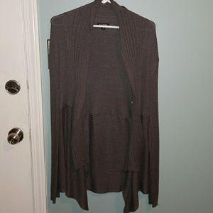 Ribbed cardigan
